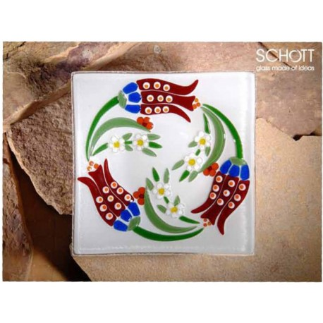 SCH Schott Cam Tabak 25 X 25 cm (Lale)