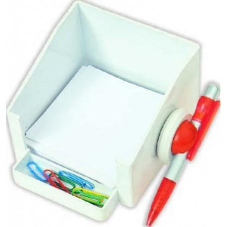 Kalemli Plastik Küp Bloknotluk
