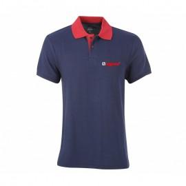 Çift Renkli Düğmeli Lacoste T-Shirt