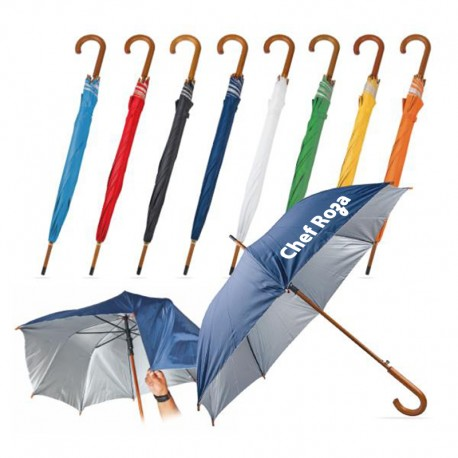 Ahşap Saplı Kaliteli Şemsiye